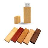 Azionamento di legno Pendrive 8GB 16GB 32GB dell'istantaneo del USB di memoria del bastone del bambù di legno del USB 2.0