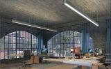2018 Modelo de LED de luz lineal en el hogar Oficina en casa de Moda Diseño de la libertad de la luz de LED lineal de una conexión perfecta colgando luces LED lineal para Centro Comercial