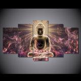L'alta pittura del Buddha di definizione, l'arte della pittura a olio, la stampa, decorazione del salone, trasmette la stampa/tela di canapa libere