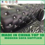 Europäisches französisches modernes echtes Leder-büscheliges Sofa