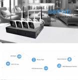 Kit senza fili domestico di vendita caldo della macchina fotografica della macchina fotografica 4CH del IP del sistema WiFi della videocamera di sicurezza