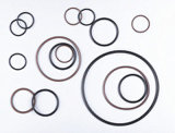 Anel-O de borracha da borracha do material EPDM/Silicone/NBR/Viton/HNBR/FKM/SBR/FPM/NR