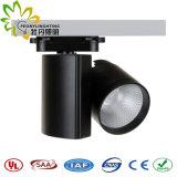 Diodo emissor de luz específico Tracklight do projeto 30W com luz do ponto da trilha da ESPIGA da boa qualidade