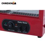 전기 구부려진 유리제 음식 온열 장치 또는 데우는 전시 진열장