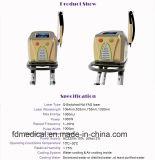 De draagbare Q-Switched Machine van de Verwijdering van de Tatoegering van de Picoseconde van de Laser YAG van 1064nm 532nmste