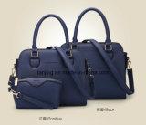 Progettista caldo di vendita di Amzon 2 parti della spalla di sacchetto delle signore della borsa di cuoio impostata dei sacchetti