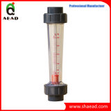 Compteur de débit en plastique de flotteur de rotamètre de PVC