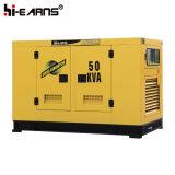 Type silencieux de générateur diesel refroidi à l'eau (GF2-50kVA)