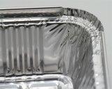 Bandejas de papel de aluminio desechable para el hogar