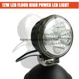 Motocycle 또는 자전거 (GT2009-12W)를 위한 최신 작은 12W 둥근 LED 일 빛
