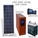 電池が付いている緑エネルギー太陽系3kw