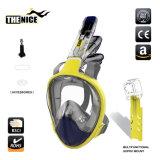 Alimentação diretamente da fábrica sopro fácil de Nevoeiro Anti Snorkel Facial máscaras com marcação RoHS