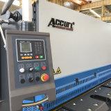 Accurlのブランドのカットシートメタ版のための油圧金属の打抜き機QC12y-6X6000 E21