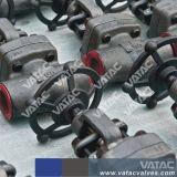 API 602 플랜지가 붙은 위조된 강철 게이트 밸브