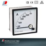 Tableau de bord analogique mètre AC ampèremètre fer mobile