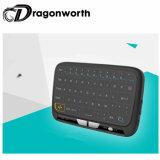 Беспроволочная мышь воздуха H18 с клавиатурой для франтовской коробки TV