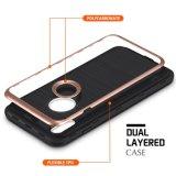 適用範囲が広いTPUの軽量の二重層の衝撃引きつけられる反スクラッチAppleのiPhone Xのための柔らかい保護シェルカバーケース