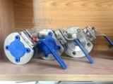 DIN из нержавеющей стали высокой платформе полупроводниковая пластина с фланцами типа шаровой клапан