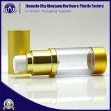 30 ml-Goldfarben-luftlose Pumpen-Flasche für Skincare Lotion