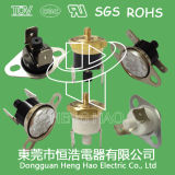 Ksd301手動リセットの止め処置のサーモスタット