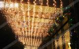 Светодиодный индикатор для праздника Icicle Рождество свадебные украшения