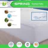 El surtidor Coolmax de China impermeabiliza el protector blanco ajustado prueba 100% de la cubierta de colchón del estilo del fallo de funcionamiento del ED