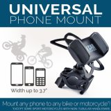 Supporto del telefono delle cellule del motociclo & della bici - per il iPhone 6 (5, 6s più), nota della galassia di Samsung o qualsiasi Smartphone & GPS