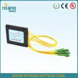 Divisore del PLC dell'accoppiatore FTTH di FC/divisore di fibra ottica del PLC