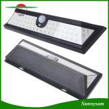 54 LED 2835 SMD 태양 벽 빛 IP65는 인간적인 적외선 PIR 운동 측정기 벽 빛 정원을%s 옥외 안전 램프를 방수 처리한다