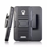 Het hybride Geval van de Telefoon van de Dekking van Combo van het Holster van de Rugdekking van PC TPU voor Alcatel Pop 4+/Ot5056