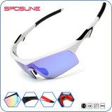 Glasseの循環の習慣を採取する卸売によって分極されるスポーツのサングラスはサングラスを遊ばす