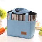Sac thermique isolé portatif de pique-nique de nourriture de sac de déjeuner de toile de mode neuve pour l'emballage de cadre de déjeuner de sac de refroidisseur d'hommes de gosses de femmes