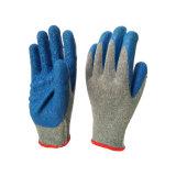 Ce gant tricoté transparente de l'aramide avec latex enduits Grip ondulée sur Palm et les doigts