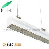 Indicatore luminoso lineare modulare di disegno LED con differenti angoli a fascio