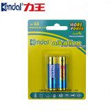 Kendal ou bateria alcalina do OEM 3000mAh Lr6 Am3 1.5V AA