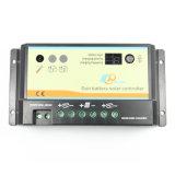 contrôleur solaire de Duo-Batterie de 10A 12V/24V avec Meter-Mt1 éloigné dB-10A
