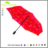고품질 방풍 3개의 겹 여행 선물 우산