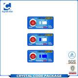 고품질 접착성 PVC 온도 표시기 스티커 레이블