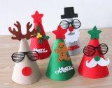 Sombrero de fieltro para el ornamento de la decoración de la fiesta de Navidad en existencias