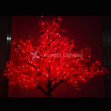 Künstliche Ahornholz-Baum-hellrote Farben-wasserdichtes Cer RoHS