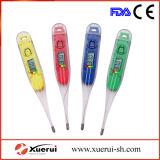Termômetro clínico transparente de Digitas para o uso do bebê