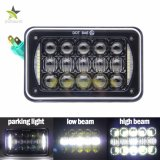 PUNTO barato LED&#160 del precio IP68 4X6 5000lm 50W; Headlight  Jeep
