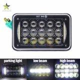 PONTO barato LED&#160 do preço IP68 4X6 5000lm 50W; Headlight Jipe