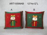 Palier de décoration de maison de renne de bonhomme de neige de Santa de Joyeux Noël