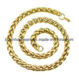 Collana della catena della corda dell'acciaio inossidabile