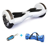 """8개의 """" 착색된 빛 스쿠터 Bluetooth 각자 균형을 잡는 스쿠터 지능적인 전기 Hoverboard 전기 스케이트보드 전기 스쿠터를 가진 2개의 바퀴 Hoverboard"""