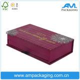 Rectángulo de empaquetado del cajón de la capa doble de la placa del sombreador de ojos de la pestaña cosmética de encargo