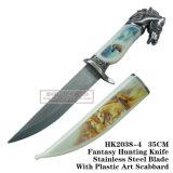 Нож 34cm выживания ножа ножей звероловства лошади ся тактический