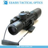 3-10táctico x42+G Rifle Âmbito Vermelho Verde Mil-DOT endoplasmático (M9A)