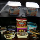 Griechisches Joghurt-Cup-füllende Kappen-Dichtungs-Maschine